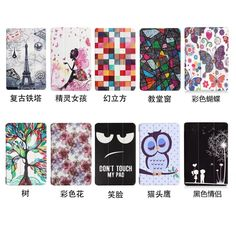 10 Design Reviews Leather Wallet Case For Samsung Galaxy Tab S3 9.7 SM-T820/T825