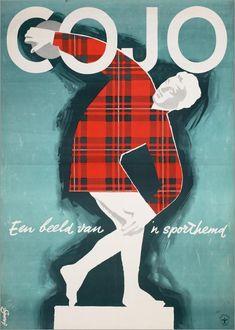 1950-1975, Cojo - Een beeld van 'n sporthemd (L' image d'une chemise de sport) - Frans Mettes (1909-1984)