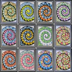 maori koru art for kids Middle School Art, Art School, School Stuff, Art Maori, Arte Elemental, Classe D'art, New Zealand Art, 6th Grade Art, Nz Art