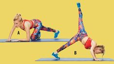 flexed coupe swing to plank arabesque tracy anderson gut check 6 Pack Abs Workout, Ab Core Workout, Abs Workout Routines, Abs Workout For Women, Workout Fitness, Workout Pics, Trainer Fitness, Fitness Gear, Fitness Diet