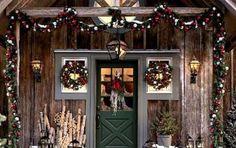 Arredare il giardino a Natale: idee originali - Arredare il giardino a Natale: idee originali