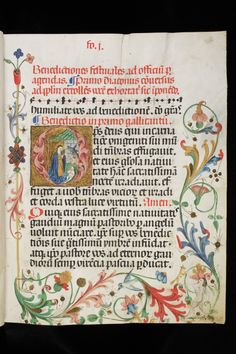 Aarau, Aargauer Kantonsbibliothek, MsMurF 3 Parchment · 100 ff. · 31 x 24 cm · Muri (? Medieval Books, Medieval Manuscript, Illuminated Letters, Illuminated Manuscript, Caligraphy Christmas, Oldest Bible, The Birth Of Christ, Middle Ages, Libros