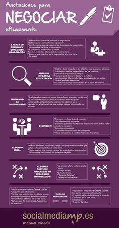 Anotaciones para negociar eficazmente socialmediamp.es #socialmediamp Affiliate Marketing, Social Media Marketing, Digital Marketing, Business Planning, Business Tips, Study Inspiration, Human Resources, Life Lessons, Leadership