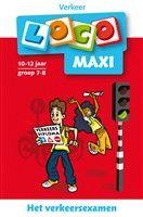 Loco maxi / Het verkeersexamen 10-12 jaar groep 7-8 / deel Verkeer  http://www.bruna.nl/boeken/loco-maxi-het-verkeersexamen-10-12-jaar-groep-7-8-deel-verkeer-9789001807535