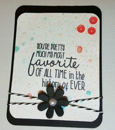 Project life card created using distress inks and Honey Bee Stamps