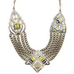 Art Deco Chain Swag Statement Necklace $148 Just released!