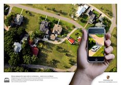 Augmented reality   (Porche Print Ad)