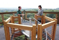 WKSU News: Holden Arboretum opens a new canopy walk and emergent tower