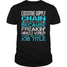 (Top Tshirt Discount) Awesome Tee For Executive-Supply Chain [Tshirt design] Hoodies, Funny Tee Shirts