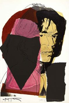 Andy Warhol: Mick Jagger, 1975