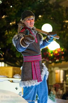Kristoff at Disney Character Central