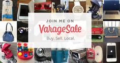 #ProductReviewParty varage sale garage sale app promo photo | declutter your home and make money from home app
