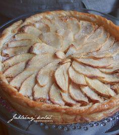 Laskominy od Maryny: Jablečný koláč z listového těsta