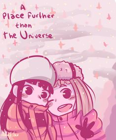 A Place Further Than The Universe - Hey I do drawings (?) amazing anime about 4 friends going to Antarctica Anime Group, Antarctica, Anime Shows, Art Forms, Diy And Crafts, Universe, Fandoms, Fan Art, Manga