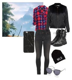 """""""Untitled #40"""" by enkii ❤ liked on Polyvore featuring Giuseppe Zanotti, Citizens of Humanity, American Eagle Outfitters and Glamorous"""