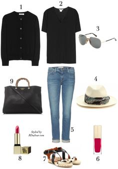 RDuJour Outfit of the Day No 285 Jil Sander Sweater Helmut Lang TShirt Lanvin Panama Hat