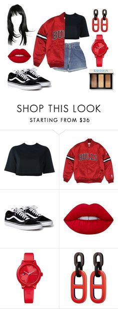 """""""Untitled #2131"""" by inocorbe ❤ liked on Polyvore featuring NIKE, Levi's, Lime Crime, Tommy Hilfiger and Bobbi Brown Cosmetics"""