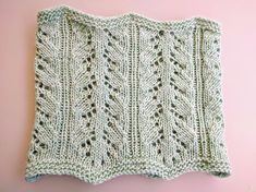 Knit Lace Cowl Pattern Robin Ulrich Studio The Return Of The Greyhaven Cowl. Knit Lace Cowl Pattern Druid Cowl One Skein Knitting Pattern Lace Cowl Pa. Lace Knitting Patterns, Knitting Blogs, Lace Patterns, Knitting For Beginners, Lace Dress Pattern, Yarn Sizes, Vintage Knitting, Cowl, Knit Lace
