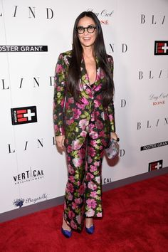 Demi Moore Wears Everything at the Blind New York Premiere