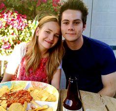 Dylan O´Brien and Britt Robertson