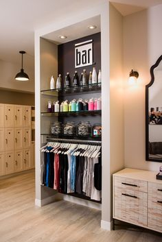Bar Method, Lake Oswego OR, Modern studio design, white and black, retail design, accent lighting, Design and Construction by Emmett Phair, Design-Build