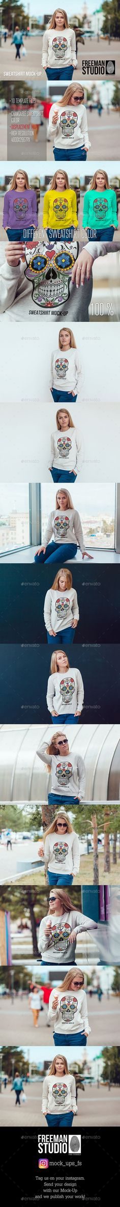 Sweatshirt Mock-Up by Freeman_Studio | GraphicRiver