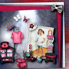 Butterfly Design, Girly, Kit, Digital, Frame, Shopping, Home Decor, Lady Like, Homemade Home Decor