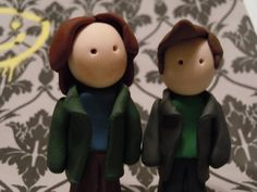 My buttons were featured in this awesome collection! TNT green love by Lily Bhattacharya (Indigo/Crystal) on Etsy Supernatural Crafts, Sam And Dean Winchester, Geek Crafts, Fondant Tutorial, Clay Figurine, Christmas Ornaments, Christmas Tree, Etsy Store, Chibi