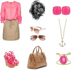 Professional Pink, created by paigy59828 on Polyvore