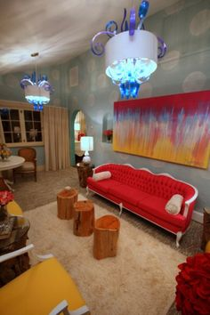 Designers David Bromstad, Patricia Rothman And Gina Carballo, For Color  Splash On HGTV. Part 61