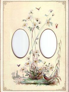 Album Page from Victorian Photo Album.vintage photo frame by cassandra Vintage Photo Album, Vintage Photo Frames, Vintage Photos, Papel Vintage, Vintage Cards, Vintage Paper, Scrapbook Pages, Scrapbooking, Decoupage