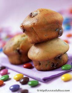Muffins aux smarties - Ôdélices : Recettes de cuisine faciles et originales !