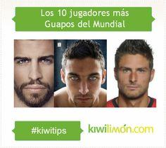 Los 10 jugadores más guapos del Mundial 2014
