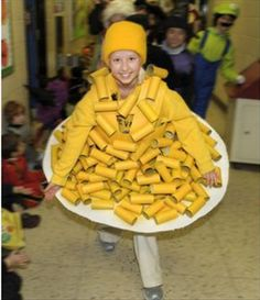 TP Roll Mac and Cheese! Love It! Dump A Day The Best Of Homemade Halloween Costumes - 24 Pics