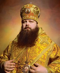 Bishop Mercurius of The Russian Orthodox Church in NY © Andres Serrano WOW