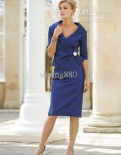- Buy Tea Length Mother of the Bride Dresses Plus Size with Jacket ...