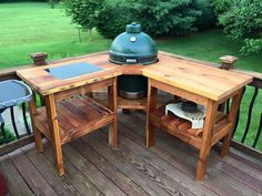 Weber Grill Table Plans New Corner Table Design