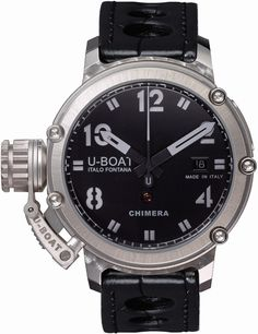 U-Boat Watch Chimera 43 925 Silver Limited Edition #bezel-fixed…