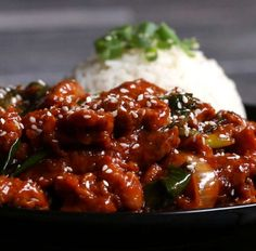 Spicy Korean BBQ-style Pork Recipe by Tasty Loading. Spicy Korean BBQ-style Pork Recipe by Tasty Spicy Korean Pork, Asian Pork, Korean Bbq, Korean Style Ribs, Korean Chicken, Pork Recipes, Asian Recipes, Cooking Recipes, Ethnic Recipes