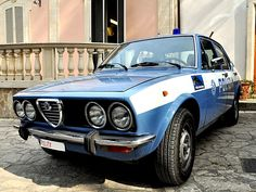 phoca_thumb_l_rr ar alfetta Alfa Romeo, Police Cars, Police Vehicles, State Police, Law Enforcement, Classic Cars, Estate, Modern, Motorbikes