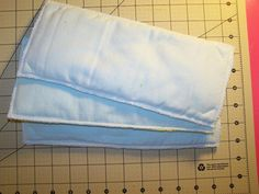 DIY cloth diaper inserts (microfiber and fleece- just like flip inserts but way cheaper!)
