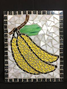 Mosaic Garden Art, Mosaic Tile Art, Mosaic Glass, Easy Mosaic, Rainforest Theme, Broken Glass Art, Fruits For Kids, Glass Artwork, Stained Glass Art