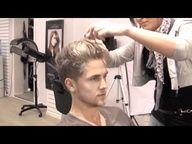Mens Haircut Undercut - Bleaching hair spot - VIDEO