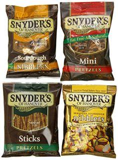 Snyder's of Hanover Pretzel Variety Pack, 1.5 Ounce, (Pack of 36) Snyder's of Hanover http://www.amazon.com/dp/B00FQGOY78/ref=cm_sw_r_pi_dp_wWUCub1CPCZ4Q