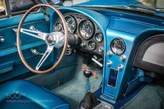 1967 Corvette Interior by RobWoodham