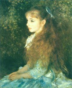 As belas mulheres nas pinturas com um toque impressionista - Pesquisa Google