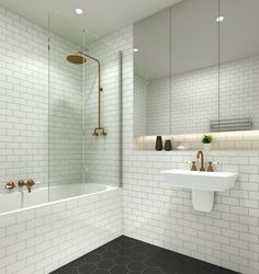The small bathroom shower: small and beautiful Often, small bathrooms feel cramped and impractical. People assume they can't have it all. Either they get a high performance system that's kinda ugly or they settle for a gorgeous shower screen that doesn't really fit the space. I don't like to settle and I don't think people with small …