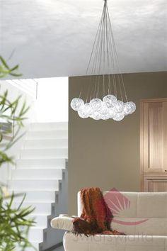 Massive Fontaine oprawa wisząca 41853/17/10 - Oświetlenie do salonów/Lampy sufitowe nowoczesne/Lampy wiszące wielopunktowe