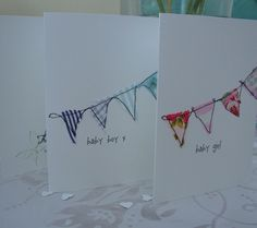 new baby bunting card £3.00