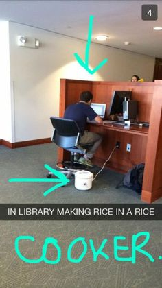 Ever cook anything at a library? ^kc
